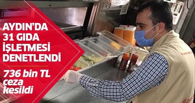 Aydın'da 31 gıda işletmesi denetlendi