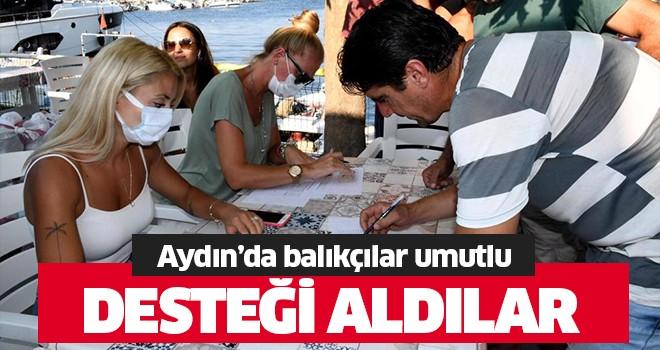 Aydın'da balıkçılar sezona umutla başladı