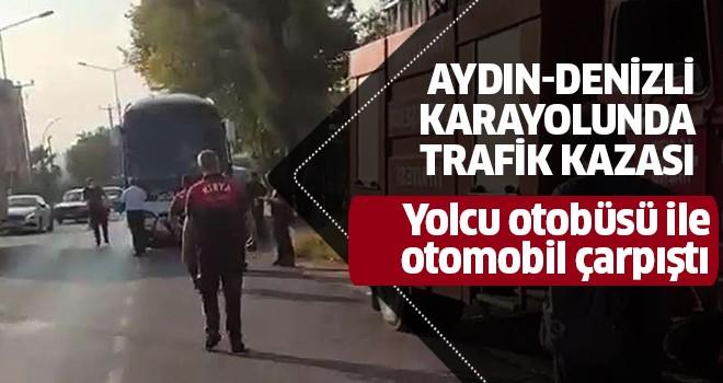 Aydın'da otobüs kazası