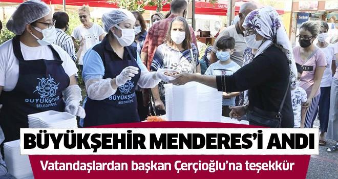 Büyükşehir Belediyesi, merhum başbakan Menderes'i andı