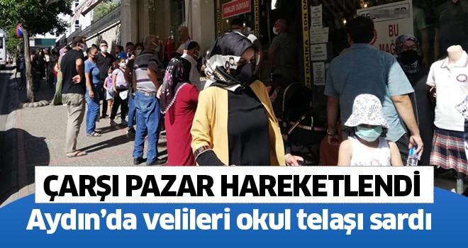 Aydın'da çarşı pazar hareketlendi
