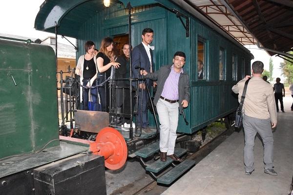 200 Akademisyen 'Gıdı Gıdı' treniyle nostalji turu attı
