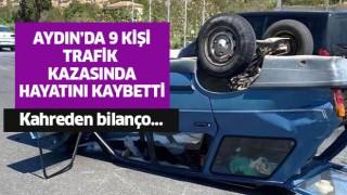 9 kişi trafik kazasında öldü