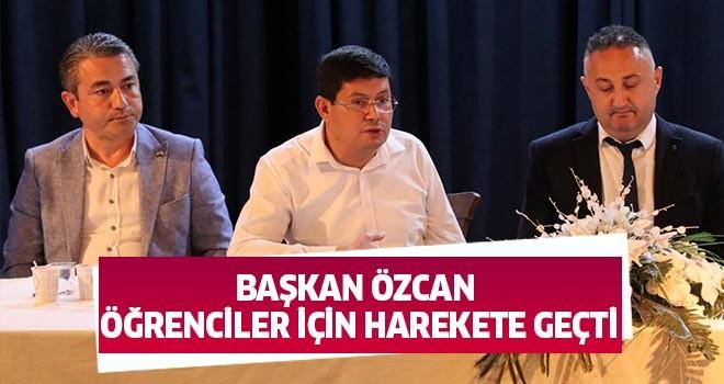 Başkan Özcan öğrenciler için harekete geçti