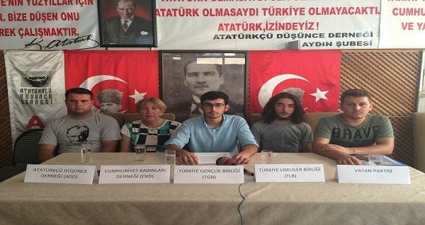 30 Ağustos'ta Aydın'da yürüyecekler