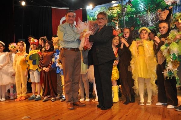 'Rüyaların Rüyası' adlı çocuk oyunu sahnelendi