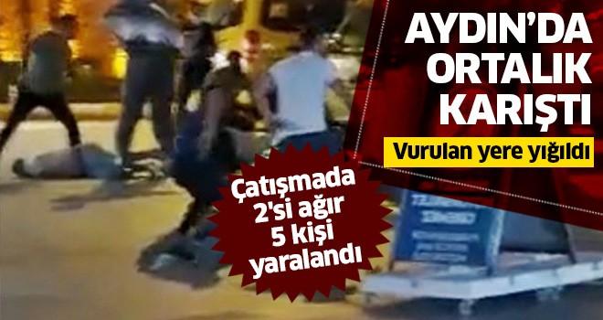 Aydın'da ortalık karıştı