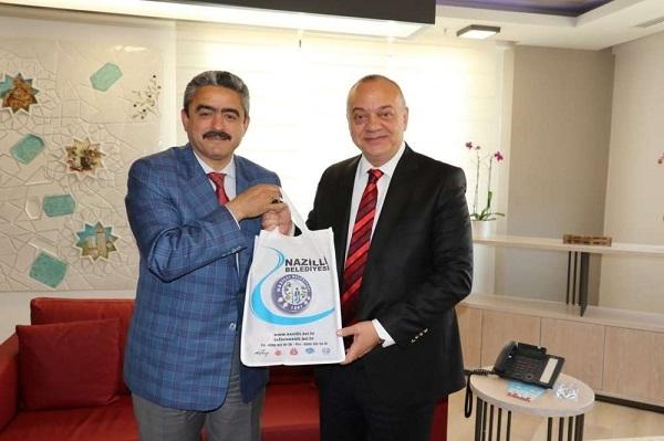 Alıcık'tan Manisa Belediye Başkanına ziyaret