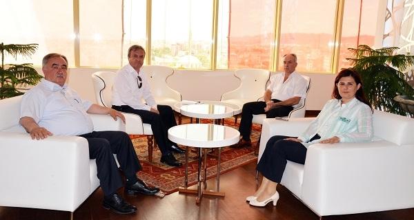 Başkan İzgü'den Çerçioğlu'na ziyaret