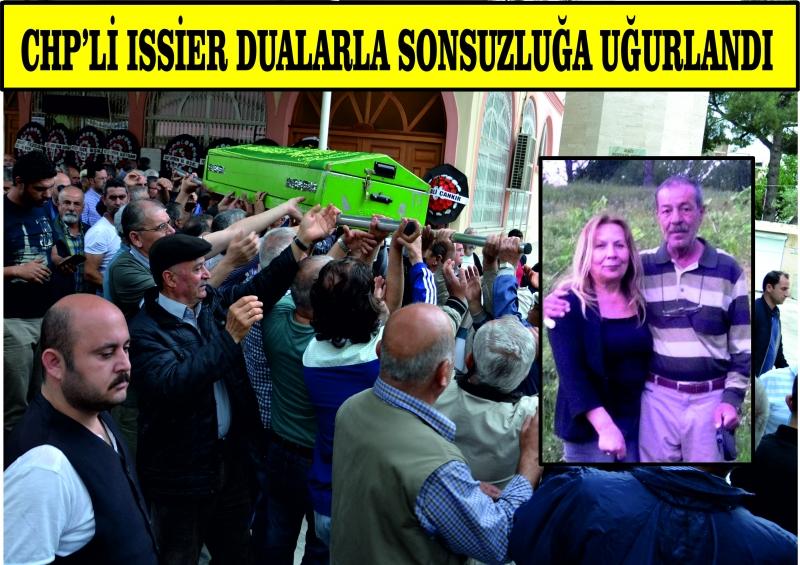 CHP'li Issier dualarla sonsuzluğa uğurlandı