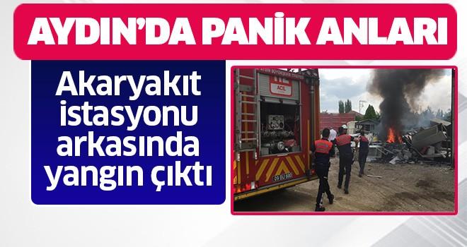 Aydın'da panik anları