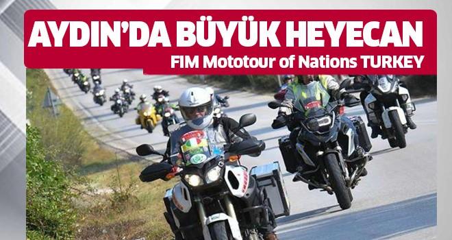 Aydın'da büyük heyecan