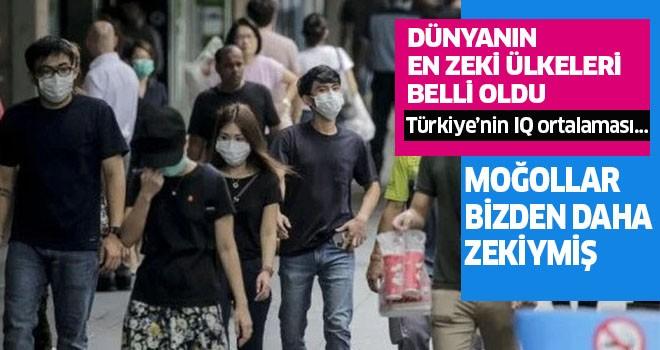 İşte Türkiye'nin IQ ortalaması