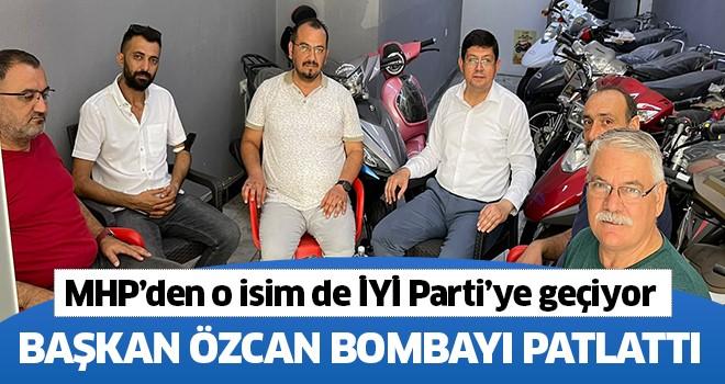 Başkan Özcan bombayı patlattı!