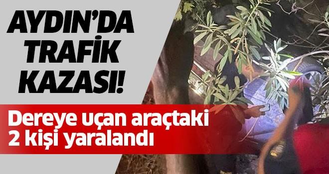 Aydın'da talihsiz kaza!