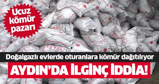 Aydın'da ucuz kömür pazarı oluştu
