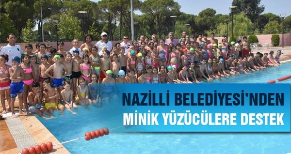 Nazilli Belediyesi'nden Minik Yüzücülere Destek