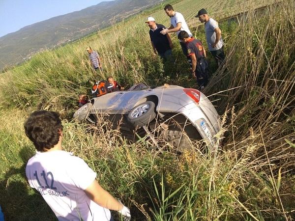 Nazilli'de feci kaza: 1 ölü 1 yaralı