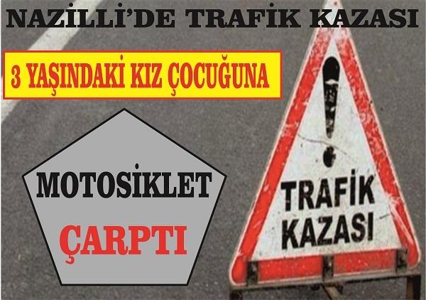 Nazilli'de trafik kazası: 2 yaralı