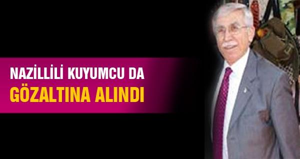 Nazillili Kuyumcu da Gözaltına Alındı