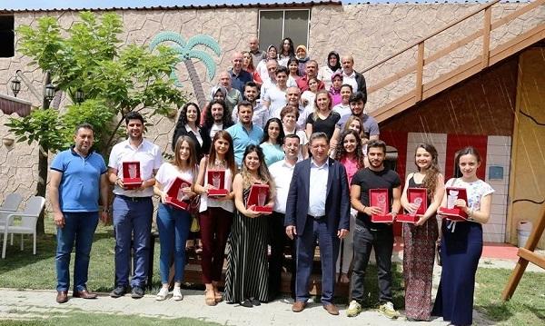 NTO Proje Ekibi ilk mezunlarını verdi